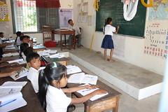 Cambodia: Class Participation (Global Partnership for Education - GPE) Tags: natashagraham school student classroom education chalkboard girlseducation girls girl globalpartnershipforeducation gpe cambodia