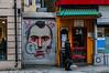 Graffiti face (Christoffer Knutsen) Tags: street city ex oslo norway japanese graffiti restaurant garage chinese sigma korean travis travisbickle taxidriver tagging f28 bickle dn 30mm sigma30mmf28exdn