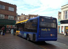 Fit bus (bobsmithgl100) Tags: bus leicestershire tempo loughborough 320 vsv swanstreet optare yj07 kinchbus yj07vsv