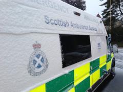 Scottish Ambulance Service (RS Pictures) Tags: winter snow scotland frost snowy scottish ambulance service sas peugeot response