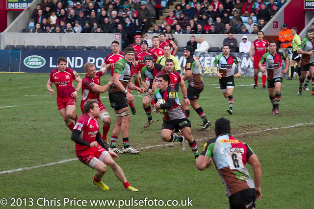 Quins V London Welsh  LV Cup pool 26/1/13
