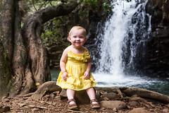 Loves Any Kind of Song (Eric Rolph) Tags: baby hawaii waterfall haiku olivia maui northshore