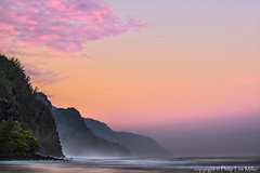 Na Pali Pink (philipleemiller) Tags: clouds sunrise landscape hawaii seascapes kauai bluelagoon haena keebeach napalicoast pacificislands d600 galleryoffantasticshots