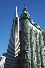 Transamerica Pyramid, San Francisco (IV) (basair) Tags: sanfrancisco california usa skyscraper pyramid william transamerica pereira