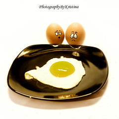 Oh Dear... (PhotographyByKristina (400,000 + views)) Tags: food white colour reflection cute cooking sorry beautiful smile face yellow easter fun sadness 50mm yummy crazy pain interesting eyes nikon funny couple moody colours sad emotion accident expression watch egg creative smiles plate cheeky tiny laugh surprise getty shock colourful nikkor capture simple fried playful bigsmile gcc gettyimages shocking nationalgeographic apart runny observing 2013 beautifulexpression theperfectphotographer greystonescameraclub photographybykristina gettyireland