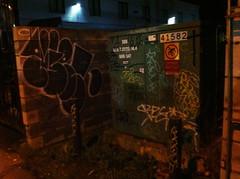 (TAGSnTAGSnTAGS) Tags: streetart vancouver graffiti pork marker spraypaint throwup osb 4get ftw pasoe frget tagsntagsntags