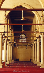 Amr bin Aas Mosque (amie.andari) Tags: old building architecture egypt mosque cairo historical islamic islamicarchitecture