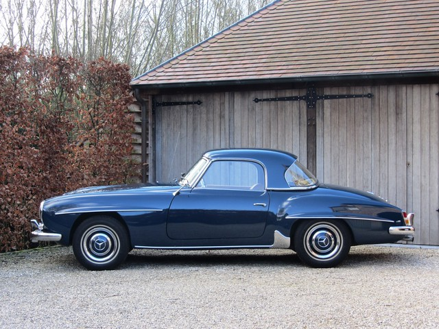 albion motorcars mercedes 190 sl 1962. Black Bedroom Furniture Sets. Home Design Ideas