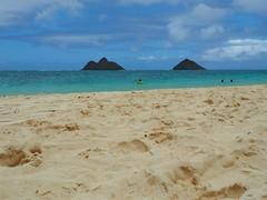 Lanikai Beach (jenesizzle) Tags: oahu hawaii island paradise beach ocean lanikai lanikaibeach kailua landscape outdoors sand