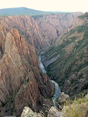 An evening at the Black Canyon #4 (jimsawthat) Tags: rural river colorado dusk canyon erosion geology blackcanyonofthegunnison blackcanyonofthegunnisonnationalpark gunnisonriver montrosecolorado