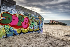 War graffiti (Fabien Georget (fg photographe)) Tags: hdr landscape pylaplagedupetitnice aquitaine ayezloeil beautiful beautifulearth bigfave canoneos600d canon cloudsstromssunsetandsunrise earth elitephotographie elitephotography elmundopormontera eos fabiengeorget fgphotographe flickr flickrdepot flickrunited georget geotagged flickunited longexposure mordudephoto nature paysages paysage perfectphotograph perfectpictures wondersofnature wonders water supershot supershotaward sunrise theworldthroughmyeyes sky shot pose poselongue photography photo great phographers greatphotographer french touch