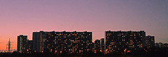 1000 (Maria Medvedchenkova) Tags: moscow city town house windows sunset evening sky color colors nikon nikond610 photo foto