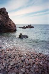 Djupadal (schoeband) Tags: lomolca film 35mm analog coastline rocks sea mlle hgans skneln sverige sweden kullaberg kullabergnaturreservat kullabergnaturereserve gneis