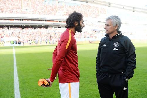 Hamit Altıntop & Jose Mourinho