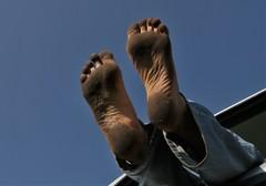 dirty city feet 327 (dirtyfeet6811) Tags: feet soles barefoot dirtyfeet dirtysoles blacksoles cityfeet