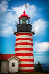 West Quoddy Lighthouse (crziebird) Tags: lighthouse maine lubec easternmost quoddy