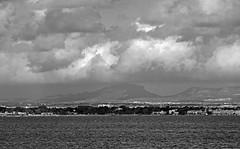 Nubes en el Mar Menor (Fotgrafo-robby25) Tags: byn fujifilmxt1 marmenor nubes