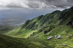 The Tarmachan Ridge (Neillwphoto) Tags: tarmachan ridge hills perthshire scotland meallnantarmachan stormy mountain