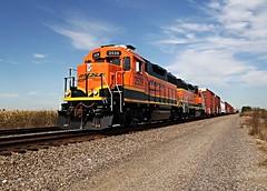 Mendota Local (Laurence's Pictures) Tags: burlington northern santa fe bnsf mendota train rail railroad railway locomotive engine