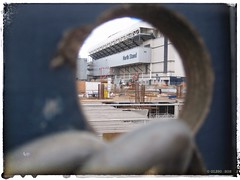 Through The Keyhole . . (GIIBRG) Tags: thfc coys spurs tottenhamhotspur whitehartlane northstand paxton tottenham n17