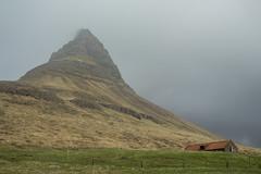 Kirkjufell 10 (sarahmonious) Tags: kirkjufell snfellsnespeninsula snfellsnes mountain churchmountain fog ringroad route1iceland route1 iceland iceland2016 travelingkirkjufell traveling