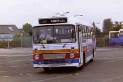 STAGECOACH PERTH 153 GSO90V (bobbyblack51) Tags: stagecoach perth 153 gso90v leyland leopard alexander y type alexandernorthern npe90 stirling bus station 1995