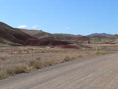 042-14 2007 USA Tour, Oregon, John Day Fossil Beds, Painted Hills Unit (Aristotle13) Tags: 2007 usa tour oregon paintedhills
