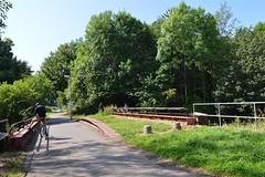 Kilmarnock-Irvine Cycle Path. Bridge Over Annick Water. (Phineas Redux) Tags: kilmarnockirvinecyclepath ayrshirecyclepaths ayrshire scotland annickwaterayrshire sustranscyclepathno73