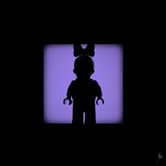 Shadow (238/100) - Daisy Duck (Ballou34) Tags: 2016 650d afol ballou34 canon eos eos650d flickr lego legographer legography minifigures photography rebelt4i stuckinplastic t4i toy toyphotography toys rebel stuck plastic photgraphy blackwhite light shadow enevucube minifigure 100shadows disney daisy duck