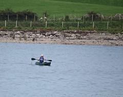 3914 Canoeist on the Menai Straits (Andy panomaniacanonymous) Tags: 20160907 canoe canoeist ccc cruise menaistraits mmm roundtrip ynysmon