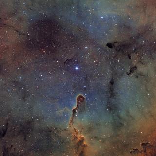 IC1396 - the Elephant's Trunk Nebula (again)