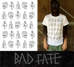 BAD FATE (P.Fiftyfour) Tags: handmade tees tshirt capsule clothing drawing street style streetstyle