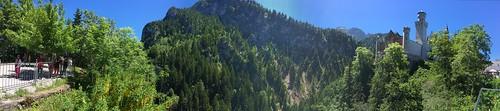 #panorama #neuschwanstein