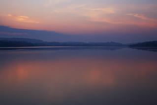 Möhnesee - Tropischer Sonnenaufgang