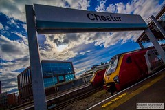 ChesterRailStation2016.09.22-11 (Robert Mann MA Photography) Tags: chesterrailstation chesterstation chester cheshire chestercitycentre trainstation station trainstations railstation railstations arrivatrainswales class175 class150 virgintrains class221 supervoyager class221supervoyager merseyrail class507 city cities citycentre architecture nightscape nightscapes 2016 autumn thursday 22ndseptember2016 trains train railway railways railwaystation