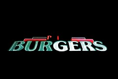 4:13am (Shutter Theory) Tags: neon americana americanwest mojave mojavedesert neonofmojave light lights sign neonsign neonlights burgers primo
