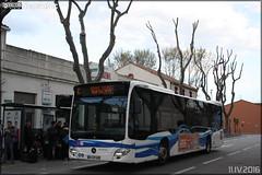 Mercedes-Benz Citaro - Keolis Narbonne / Citibus n149102 (Semvatac) Tags: semvatac photo bus tramway mtro transportencommun mercedesbenz citaro dh127sq keolisnarbonne citibus c arrtgarecondorcet boulevardcondorcet narbonne aude