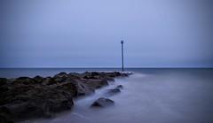 Overcast (hall1705) Tags: felpham rocks overcast sea seascape sussex shore seaside marker nikon p340 water