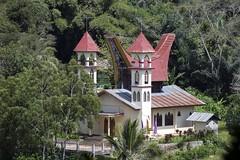 Indonesia, Sulawesi. Iglesia en pas Toraja. Explore 26.09.2016 (fdecastrob) Tags: toraja iglesia sulawesi celebes indonesia d750 church