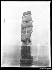 Training ship MERSEY, possibly in Sydney
