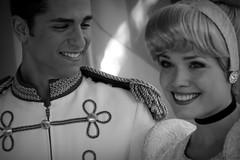 Cinderella and Prince Charming (Visions Fantastic) Tags: disneyland disney cinderella princecharming facecharacter royalwalk