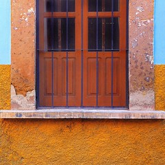 new shutters (msdonnalee) Tags: window mexico ventana fenster finestra shutters mexique janela fenêtre mexiko venster woodenshutters photosfromsanmigueldeallende fotosdesanmigueldeallende