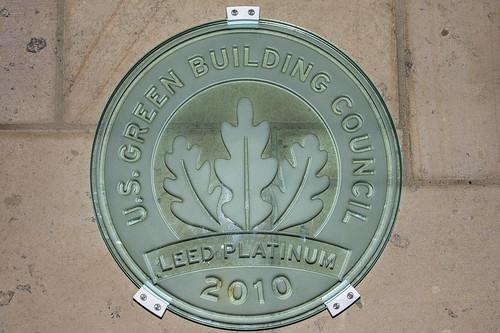 LEED Platinum Plaque - Bardessono