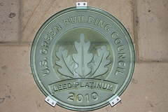 LEED Platinum Plaque - Bardessono
