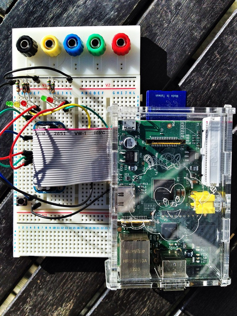 The Worlds Best Photos Of Breadboard And Raspberrypi Flickr Hive Mind Wiringpi Open Source Testing Raspberry Pi Gpio Mark Philpott Tags Make Digital Fun Stem Technology Tech