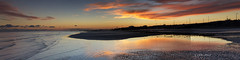 Last minute (Through Bri`s Lens) Tags: sunset panorama reflection beach sussex pier worthing lowtide worthingpier sigma1770 canon7d lee09ndgrad