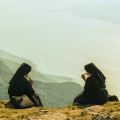 Nuns Eating Ice Cream at the Summit Around Lake Garda (Garen M.) Tags: saved delete10 delete5 delete2 deleted9 delete6 delete7 saved2 delete8 delete3 delete delete4 cheers chuck saved3 lakegarda cheers2 chuck2 chuck3 chuck4 cheers3 cheers4 cheers5 cheers6 cheers7 cheers8 cheers9 cheers10 cheeredonbythepigsty chuck6 chuck5 chuck7 chuck8 italy2012vacation