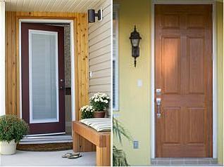 wooden vx pvc doors