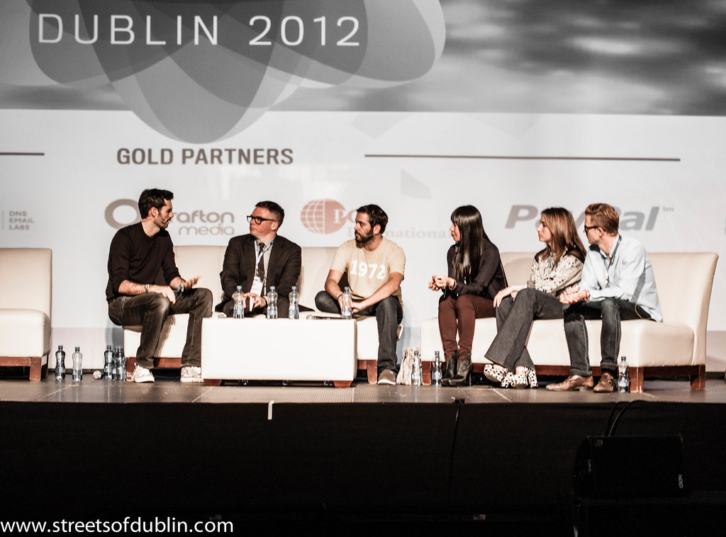 Matt Cowan Meets Chris Morton, Diego Berdakin, Shauna Mei, Carl Fritjofsson  And Olivia Gossett: Dublin 2012 Web Summit