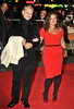Jade Jagger and Adrian Fillary 56th BFI London Film Festival: 'Rolling Stones - Crossfire Hurricanes', gala screening held at the Odeon Leicester Square - Arrivals. London, England